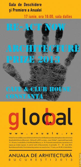 Architecture Prize 2013 CRAZY